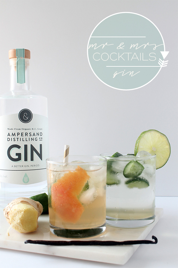 Ginger Kick G&T Cocktail and Mocktail | Squirrelly Minds