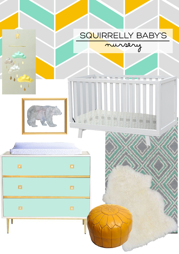 Gender Neutral Nursery Inspiration | Squirrelly Minds