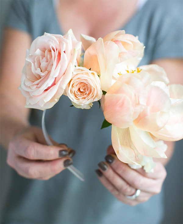 Top 7 Peony DIY's - Photo by B Loved | Squirrelly Minds