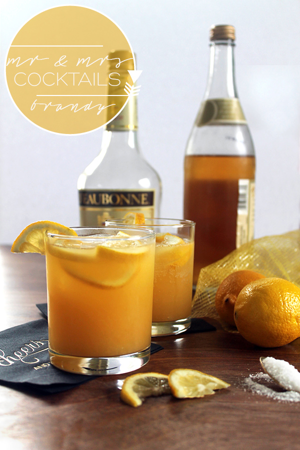Brandybuck Cocktail & Mocktail | Squirrelly Minds