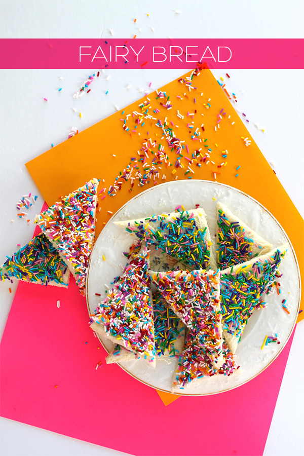 Fairy Bread Recipe | Squirrelly Minds