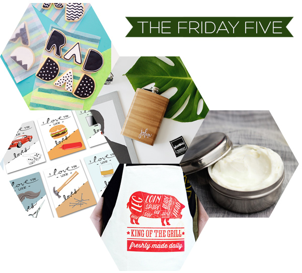 The Friday Five - Father's Day DIY's | Squirrelly Minds