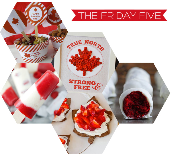 The Friday Five - Canada Day | Squirrelly Minds