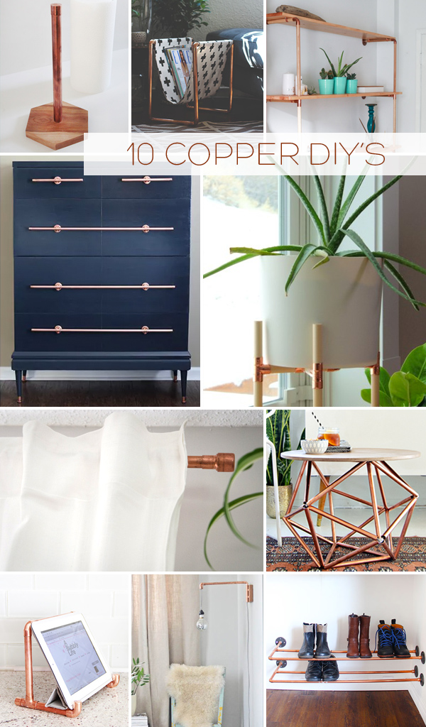 Top 10 Copper Pipe DIY's | Squirrelly Minds