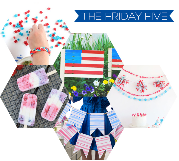 The Friday Five - 4th of July | Squirrelly Minds