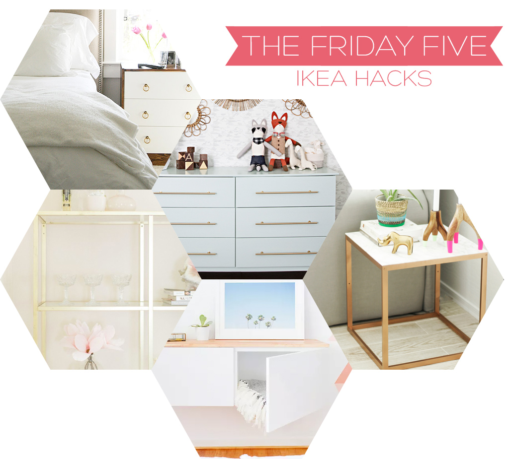 The Friday Five - IKEA Hacks | Squirrelly Minds