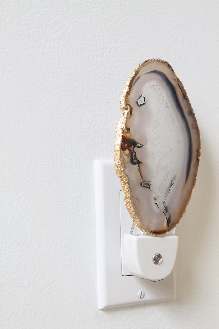 Agate Night Light DIY | Squirrelly Minds