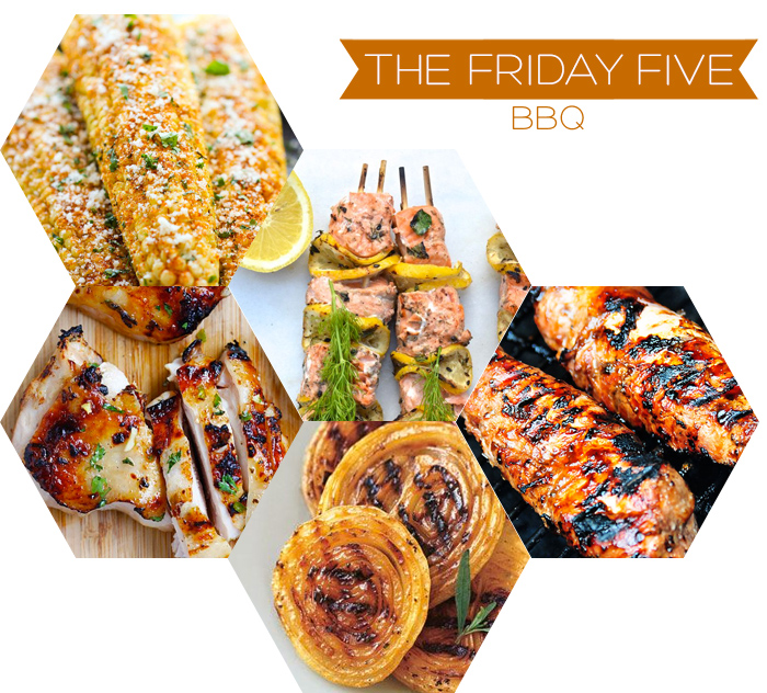The Friday Five - BBQ Recipes | Squirrelly Minds