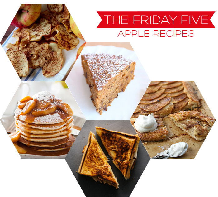 The Friday Five - Apple Recipes | Squirrelly Minds