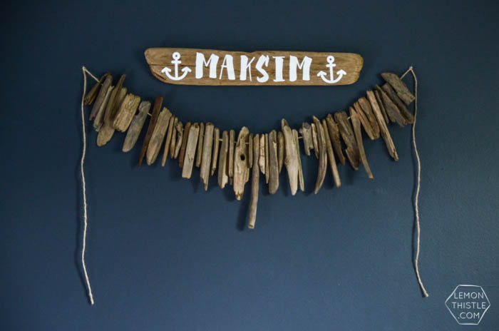 Driftwood Sign by Lemon Thistle   Squirrelly Minds