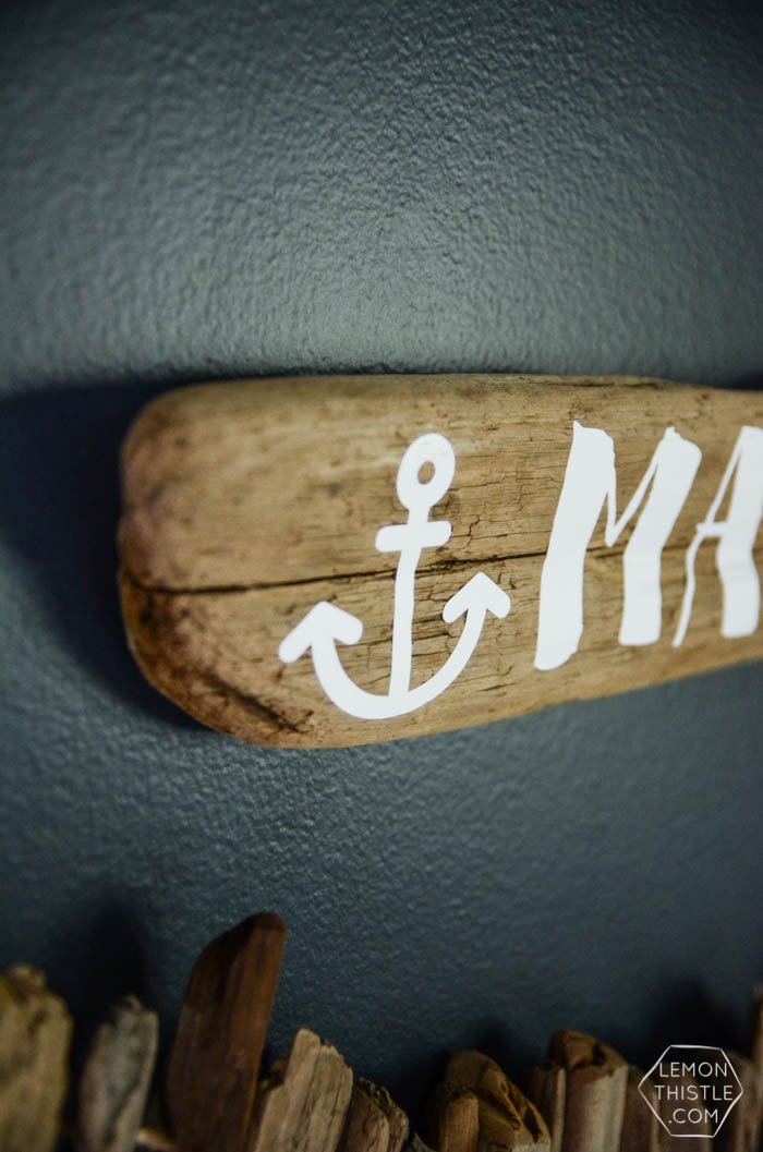 Driftwood Sign by Lemon Thistle | Squirrelly Minds