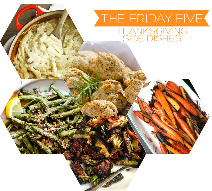 The Friday Five - Thanksgiving Side Dishes | Squirrelly Minds