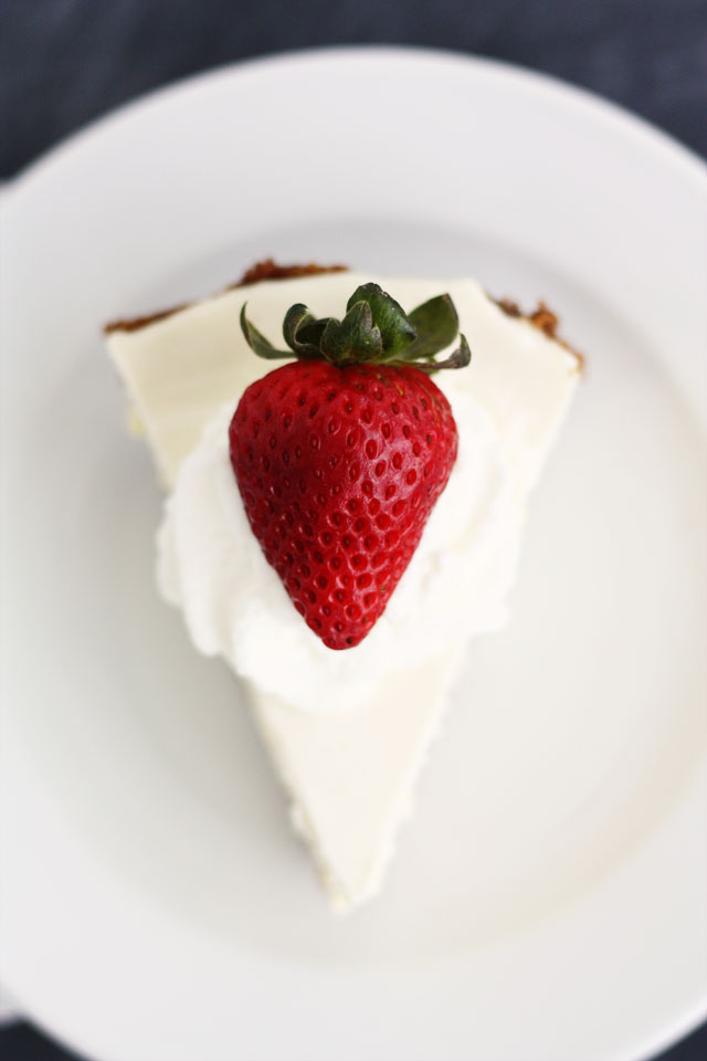 Easy 3-Layer Cheesecake by Lulu the Baker on Squirrelly Minds