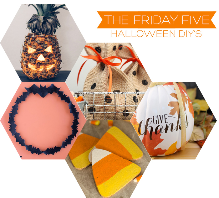 The Friday Five - Halloween DIY's | Squirrelly Minds