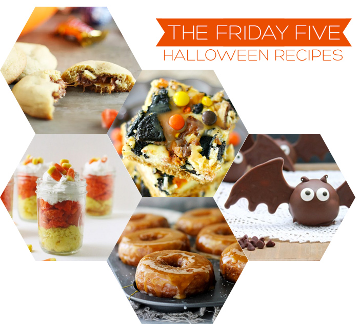 The Friday Five - Halloween Recipes | Squirrelly Minds