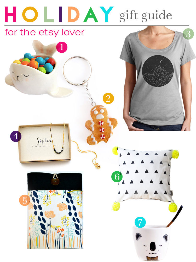 Gift Guide for the Etsy Lover | Squirrelly Minds
