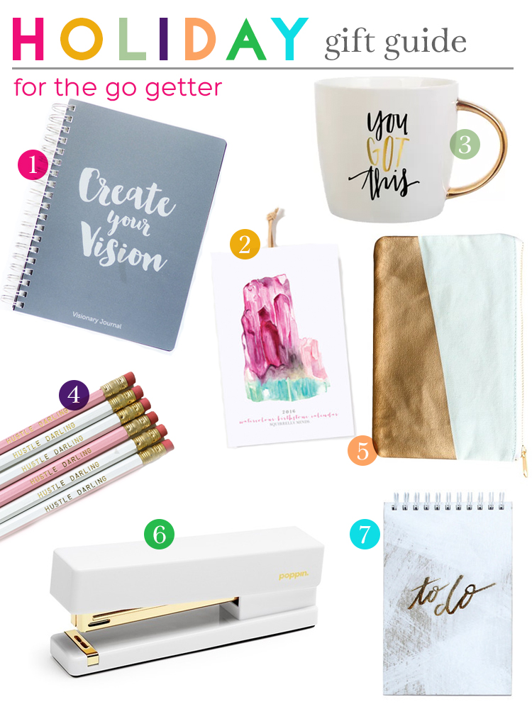 Gift Guide for the Go Getter | Squirrelly Minds