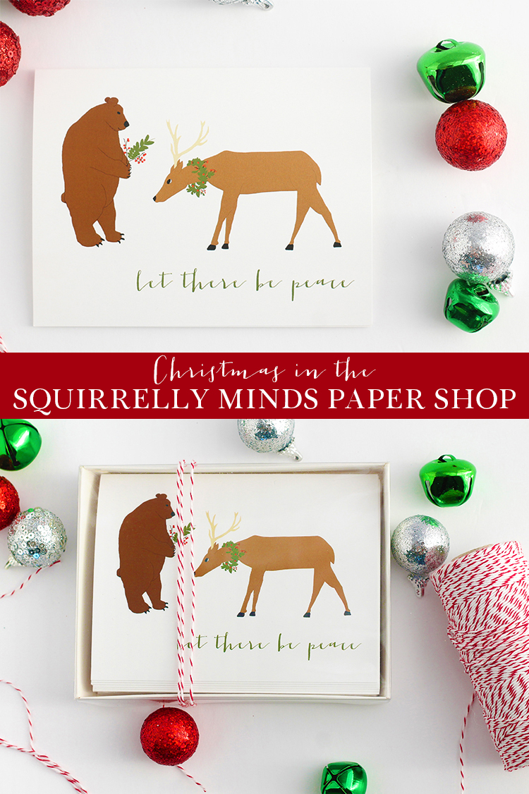 Christmas in the Squirrelly Minds Paper Shop
