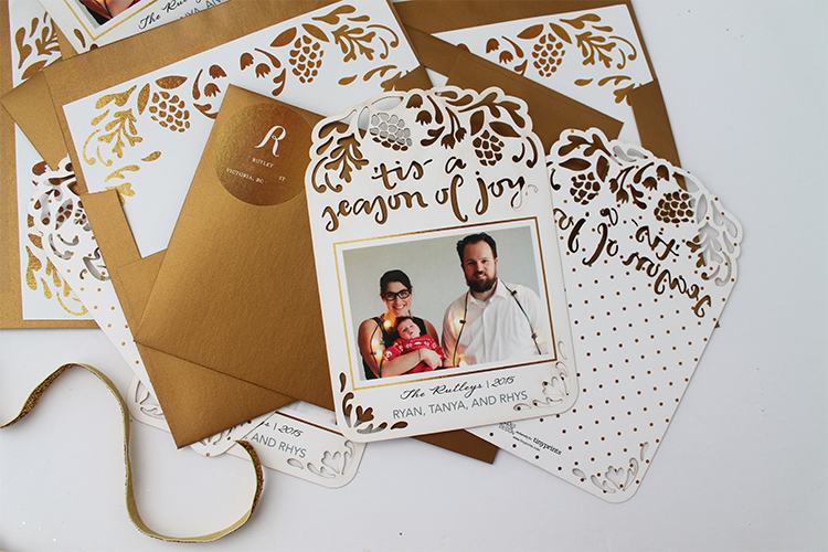 Personalized wrapping paper, cards and gifts with Tiny Prints | Squirrelly Minds