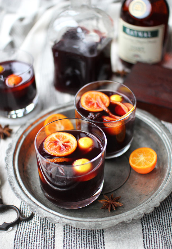Mulled Wine Recipes - Photo by Flourishing Foodie | Squirrelly Minds