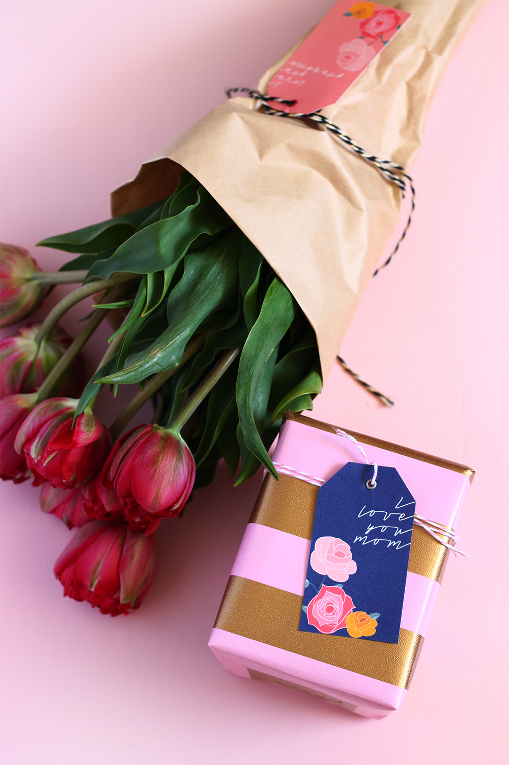 Printable Mother's Day Gift Tags | Squirrelly Minds