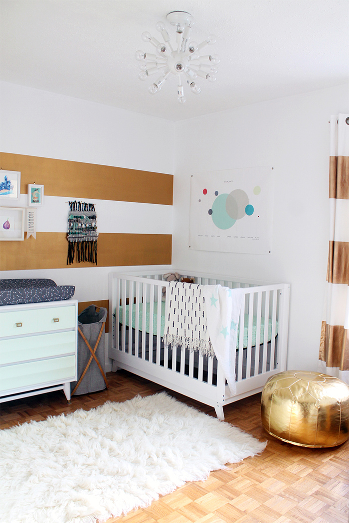 Squirrelly Minds Nursery Reveal with Land of Nod