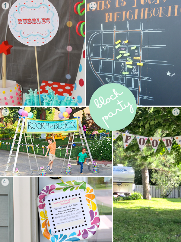 Block Party Ideas Squirrelly Minds